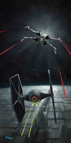 "Rob Kaz Star Wars ""Defending the Y-Wing"" Limited Edition Canvas Giclee"