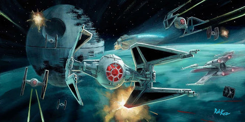 "Rob Kaz Star Wars ""Intercepting Rebels"" Limited Edition Canvas Giclee"
