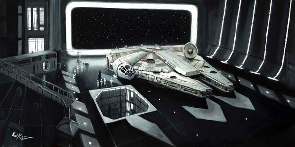 "Rob Kaz Star Wars ""Scan the Ship"" Limited Edition Canvas Giclee"