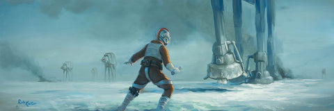 "Rob Kaz Star Wars ""Single Handed"" Limited Edition Canvas Giclee"