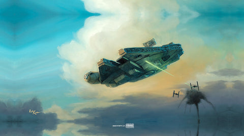 "Rob Kaz Star Wars ""Two Against One"" Limited Edition Canvas Giclee"