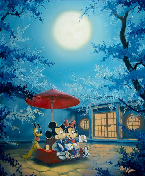 "Rob Kaz Disney ""Summer Night"" Limited Edition Canvas Giclee"