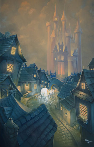 "Rob Kaz Disney ""The Palace Awaits"" Limited Edition Canvas Giclee"