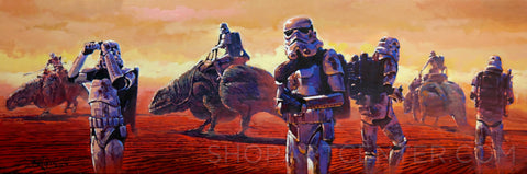 "Rodel Gonzalez Star Wars ""Sand Trooper"" Limited Edition Canvas Giclee"