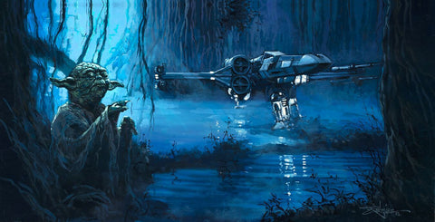 "Rodel Gonzalez Star Wars ""Use the Force"" Limited Edition Canvas Giclee"