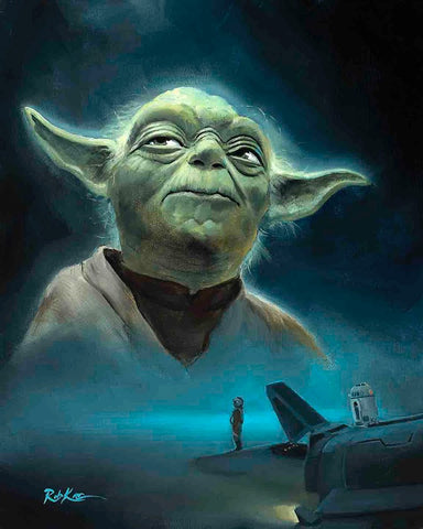 "Rob Kaz ""Seeking Yoda"" Limited Edition Canvas Giclee"