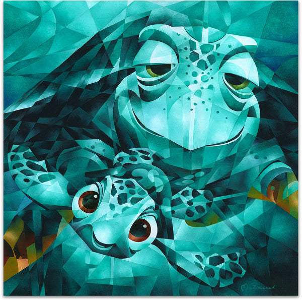 "Tom Matousek Disney ""Serious Thrill Issues, Dude"" Limited Edition Canvas Giclee"