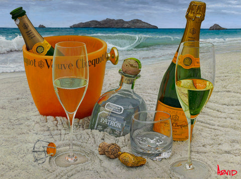 "Thomas Arvid ""Somewhere On a Beach"" Limited Edition Canvas Giclee"