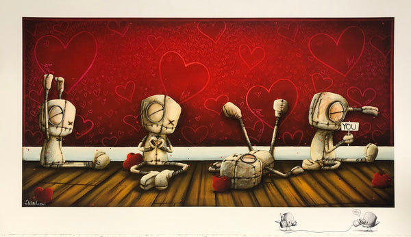 "Fabio Napoleoni ""Spelling it Out for You"" Limited Edition Paper Giclee"