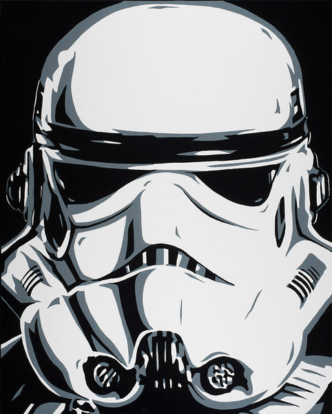 "Allison Lefcort Star Wars ""Stormtrooper"" Limited Edition Canvas Giclee"