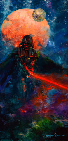 "James Coleman Star Wars ""The Dark Lord"" Limited Edition Canvas Giclee"