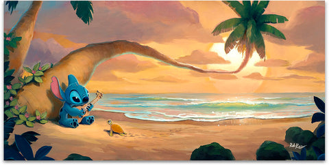"Rob Kaz Disney ""Sunset Serenade"" Limited Edition Canvas Giclee"