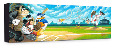 "Tim Rogerson Disney ""Swing for the Fences"" Limited Edition Canvas Giclee"