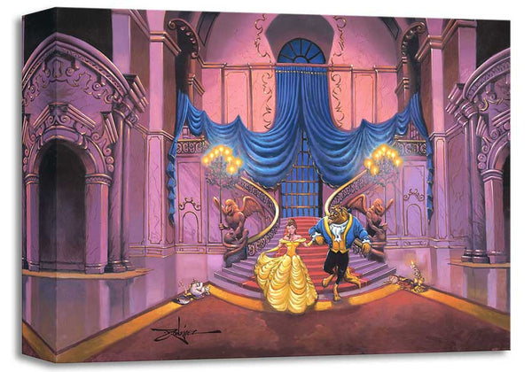 "Disney Fine Art-""Tale As Old AsTime""Size: 12 x 16 