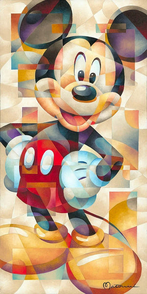 "Tom Matousek Disney ""The Famous Pose"" Limited Edition Canvas Giclee"