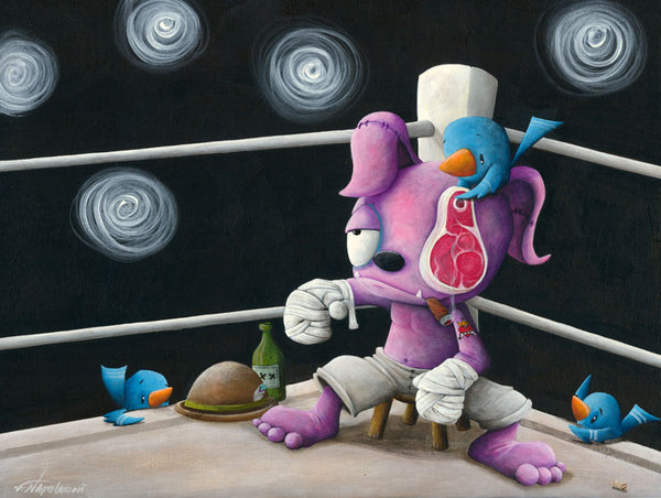 "Fabio Napoleoni ""The Party Is Just Starting"" Limited Edition Canvas Giclee"