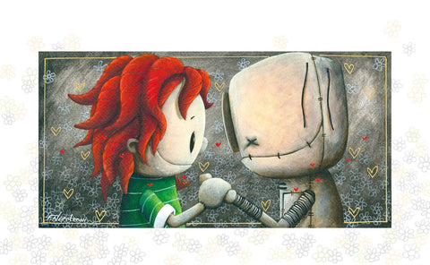 "Fabio Napoleoni ""The Second You Know"" Limited Edition Paper Giclee"