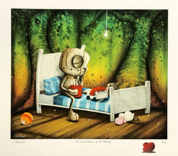 "Fabio Napoleoni ""The Small Hours of the Morning"" Limited Edition Paper Giclee"