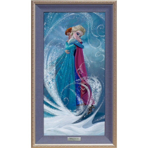 "Lisa Keene Disney ""The Warm Embrace"" Limited Edition Canvas Giclee"