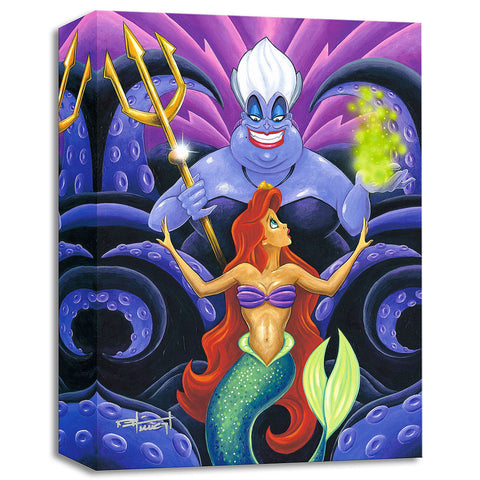 "Mike Kungl Disney ""The Whisper"" Limited Edition Canvas Giclee"