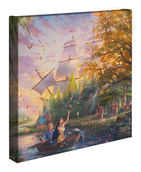 "Thomas Kinkade Studios ""Pocahontas"" Limited and Open Edition Canvas"