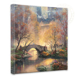"Thomas Kinkade ""Central Park in the Fall"" Limited and Open Canvas Giclee"
