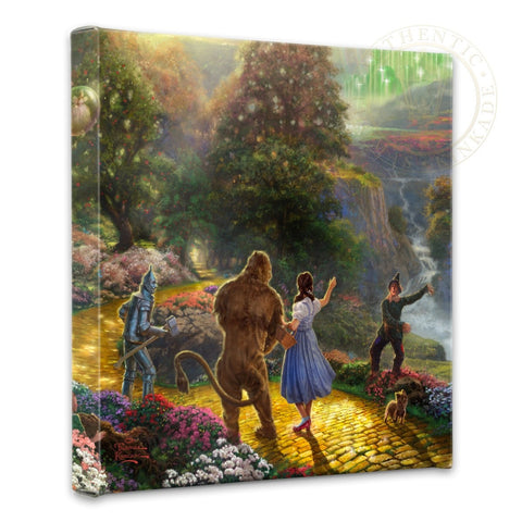 "Thomas Kinkade Disney Dreams ""Dorothy Discovers the Emerald City"" Limited and Open Canvas Giclee"