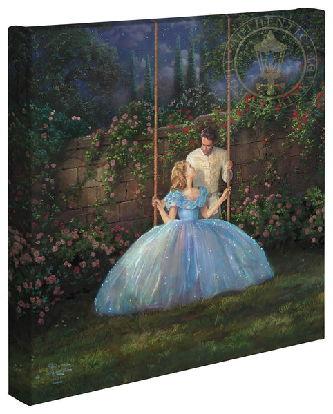 "Thomas Kinkade Disney Dreams ""Dreams Come True"" Canvas Giclee"