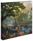 "Thomas Kinkade Disney Dreams ""Jungle Book"" Limited and Open Canvas Giclee"