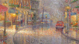 "Thomas Kinkade ""Munich Cafe"" Limited Edition Canvas Giclee"