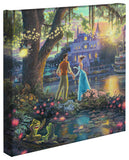 "Thomas Kinkade Disney Dreams ""Princess and the Frog"" Limited and Open Canvas Giclee"