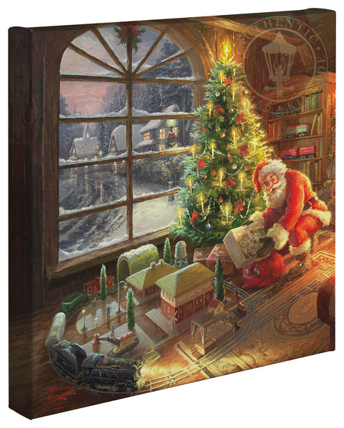 "Thomas Kinkade Studios ""Santa's Special Delivery"" Limited and Open Canvas Giclee"