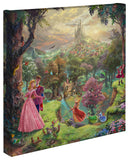 "Thomas Kinkade Disney Dreams Disney ""Sleeping Beauty"" Limited and Open Canvas Giclee"
