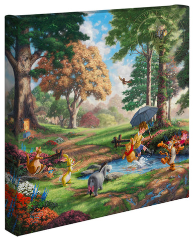 "Thomas Kinkade Disney Dreams ""Winnie the Pooh I"" Limited and Open Canvas Giclee"