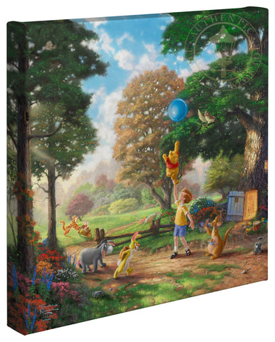 "Thomas Kinkade Disney Dreams ""Winnie the Pooh II"" Limited and Open Canvas Giclee"