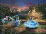 "Thomas Kinkade Disney Dreams ""Wishes Granted"" Limited and Open Canvas Giclee"