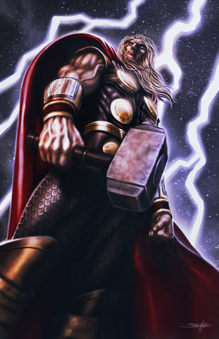 "Jed Thomas ""Thor"" Limited Edition Metal"