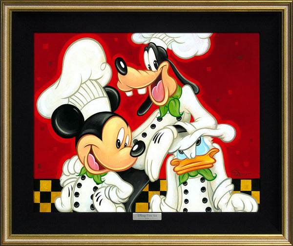 "Tim Rogerson Disney ""Too Many Cooks"" Limited Edition Canvas Giclee"