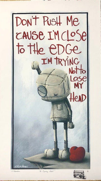 "Fabio Napoleoni ""The Tipping Point"" Limited Edition Paper Giclee"