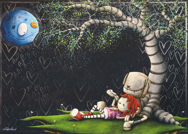 "Fabio Napoleoni ""To the Moon and Back"" Limited Edition Paper Giclee"