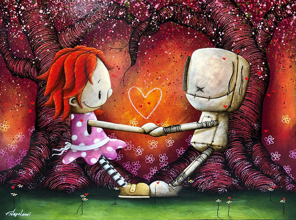 "Fabio Napoleoni ""Together Forever & Ever"" Limited Edition Canvas Giclee"