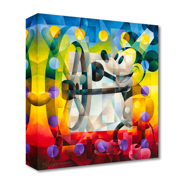"Tom Matousek Disney ""Steamboat Willie"" Limited Edition Canvas Giclee"