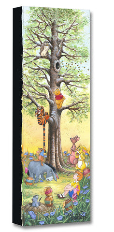 "Michelle St. Laurent Disney ""Tree Climbers"" Limited Edition Canvas Giclee"