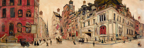 "Clifford Bailey ""Union Street"" Limited Edition Canvas Giclee"