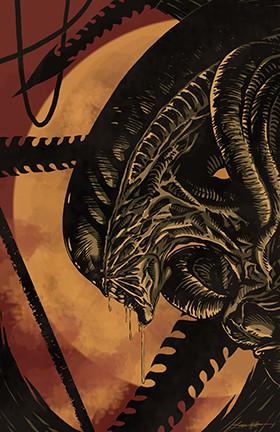 "Jed Thomas ""Alien : Xenomorph"" Limited Edition Metal"