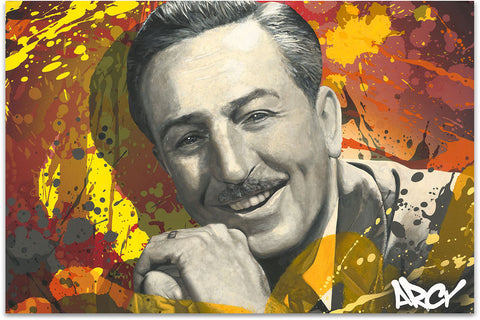 "Arcy ""Walt Disney"" Limited Edition Canvas Giclee"