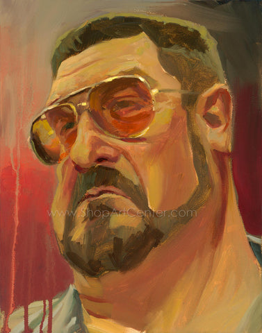 "Gabe Leonard ""The Big Lebowski"" Limited Edition Canvas Giclee"