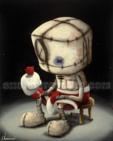 "Fabio Napoleoni ""We Fight For What We Love"" Limited Edition Paper or Canvas Giclee"