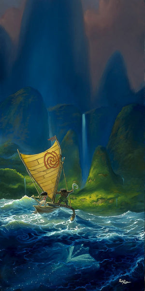 "Rob Kaz Disney ""We Know the Way"" Limited Edition Canvas Giclee"