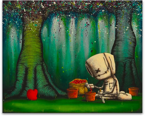 "Fabio Napoleoni ""With Love Hope Grows"" Limited Edition Canvas Giclee"